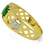 Anel De Formatura De Ouro 18k Dubai - Unissex