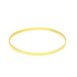 Bracelete De Ouro 18k Laminado De 2,6mm Com 6,5cm