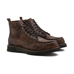 Bota Masculina ZAKI Washed Conhaque