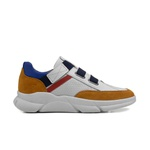 Sneakers Masculino ETHAN Off White/Ouro