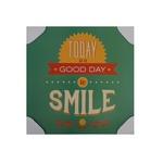 QUADRO 30X30CM SMILE
