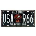 PLACA USA R66