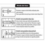 TRAVA REFORÇADA P/ PUXADORES