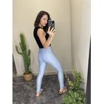 Calça Skinny com laço Azul