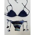 Biquíni Anita (Dupla-face) - Azul estampado