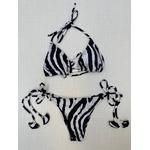 Biquíni Samira - Animal print zebra