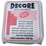TEXTURA RISCADA GROSSA SACO 25 KG DECORE