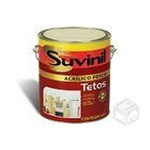 TINTA ACRILICO FOSCO TETO BRANCO 3,6 LTS SUVINIL