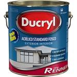 DUCRYL ACRILICO FOSCO BRANCO DR4701 GL RENNER