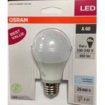 LAMPADA BULBO LED 6W/850 VALUE OSRAM
