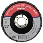 DISCO DE LIXA FLAP CONICO 4 1/2 GRAO 60 MISTER