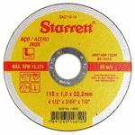 Disco Corte Inox Starrett 41/2 115 x 1,0 x 22,2