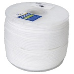 Corda Trancada Seda Branca 4mm (metro)
