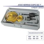 Jogo De Serra Copo Profissional 18-63mm 12 Peças Lotus