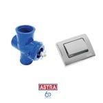 Válvula De Descarga Astra C/ Novo Acabamento Cromado Vdk2