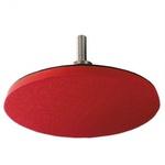 Disco De Borracha Com Velcro 7 Pol. Com Adaptador Para Furadeira