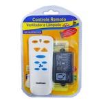 Controle Remoto para Ventilador de Teto Qualitronix