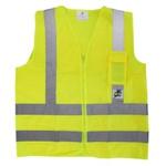 Colete refletivo com Bolso Verde T-GG Super Safety