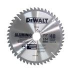 Disco de serra circular 185 x 25 para alumínio / madeira laminada 48 dentes - DW-03200 - Dewalt