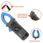 Alicate amperímetro digital - ET3111 - Minipa