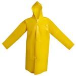 Capa de Chuva Forrada Amarela