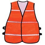 Colete Sinalização Tipo Blusão Laranja com Refletico Brascamp