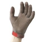 Luva de Aço Inox 5 Dedos T-G