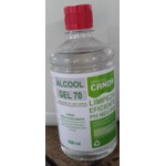Álcool em gel antisséptico 70% 500 ml Canoa