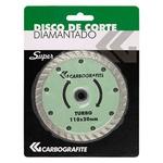 Disco de Corte Diamantado Turbo Carbografite