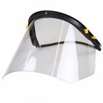 Protetor Facial Incolor para Acoplar ao Capacete Carbografite