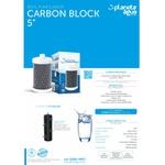 "Refil carbon block 5"" rosca"