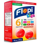 Pirulito Sabor Morango Zero Açúcar Kids 10x5g