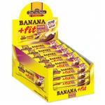 Banana +Fit Amendoim e Cacau Display 24x22g