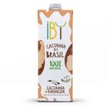 Bebida de Castanha + Baunilha 1 litro IBY