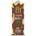 Bebida Castanha + Cacau 1 litro IBY