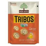 Biscoito Tribos Orgânico Azeite e Ervas Display 7x25 g