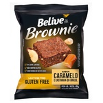 Brownie Belive Sabor Caramelo e Castanha do Brasil Display 10x40g