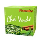 Chá Verde Hortelã E Canela 10sachês x 1,7g