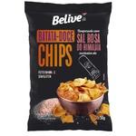 Chips de Batata Doce Sabor Sal Rosa do Himalaia 50g