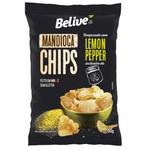 Chips de Mandioca Sabor Lemon Pepper 50g