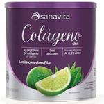 Colágeno Hidrolisado Skin Limão e Clorofila 300g