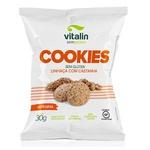 Cookie Sem Glúten Linhaça Dourada com Castanha Display 12 x 30g