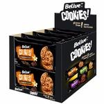 Cookies Baunilha Com Gotas de Chocolate Zero Açúcar Display 10x80g