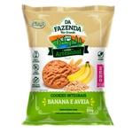Da Fazenda Cookies Banana e Aveia 100g