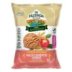 Da Fazenda Cookies Integrais Maçã e Sementes Nobres 100g