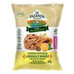 Cookies Integrais Zero Mamão e Laranja com Gotas 100g