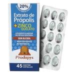 Extrato de Própolis + Zinco Quelato Sem Álcool 45 Cápsulas
