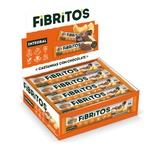 Fibritos Castanhas com Chocolate Integral Vegano Display 15x25g