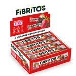 Fibritos Morango com Chocolate Integral Zero Display 15x25g