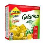 Gelatina Abacaxi Com Stevia 10g